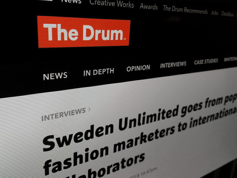 Sweden Featured in The Drum